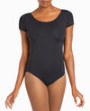 Scoopneck Short Sleeve Leotard