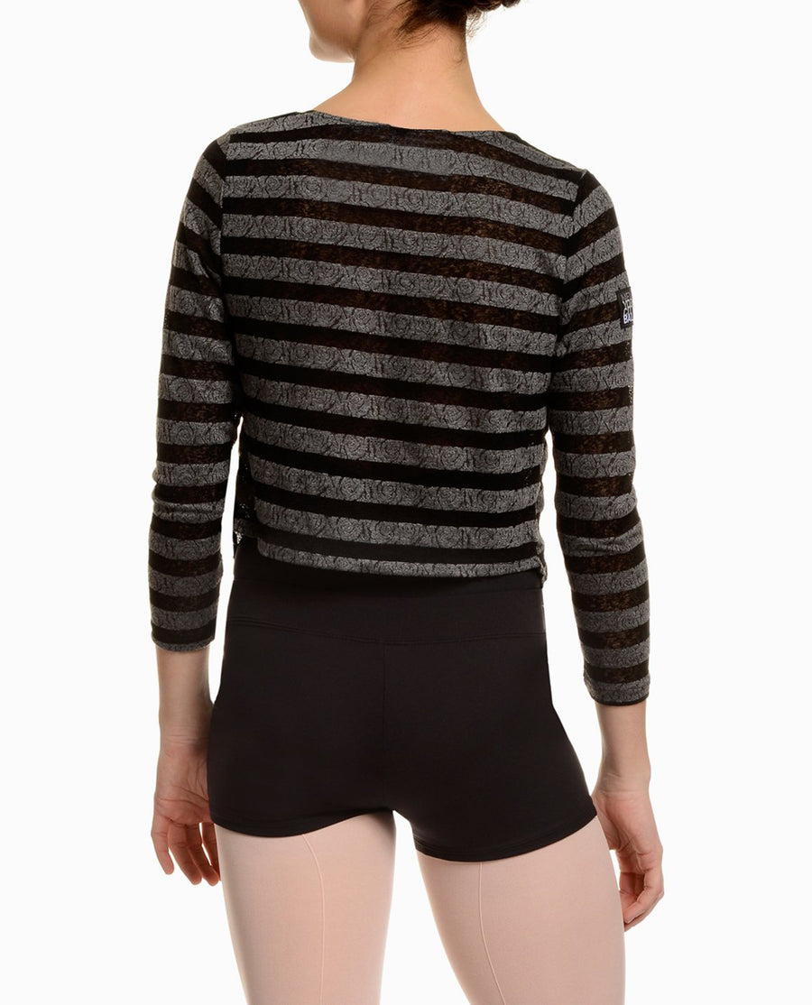 NYCB Striped Dance Sweater