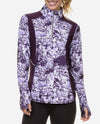 Splatter Quarter Zip Top
