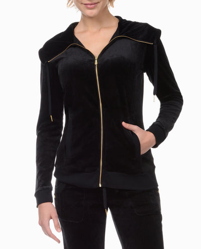 Velvet Velour Spa Jacket
