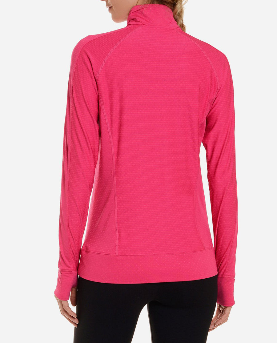 Flash Textured Half Zip Top