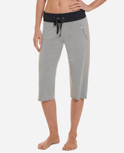 French Terry Marrakesh Mix Crop Pant