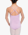 Girl's NYCB Crossback Cami Leotard