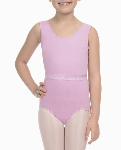 Girl's Bow Back Tank Leotard