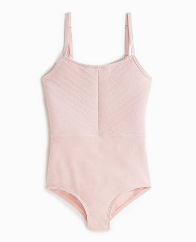 Girl's Quilted Camisole Leotard