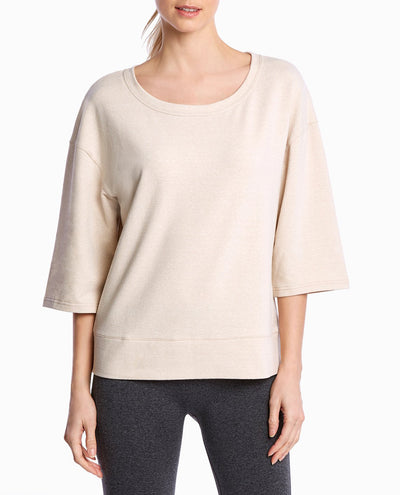 Lounge Wide-Neck Pullover