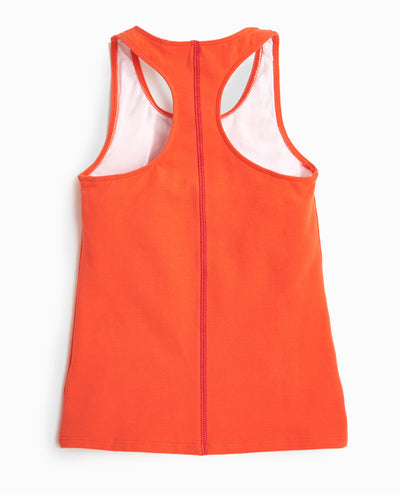 Girl's Pop Stitch Racerback Tank