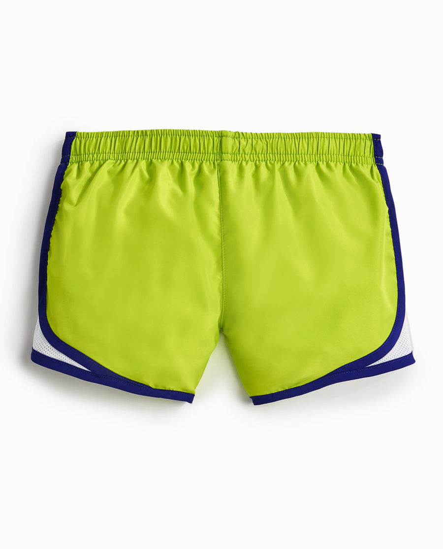 Girl's Colorblock Run Short