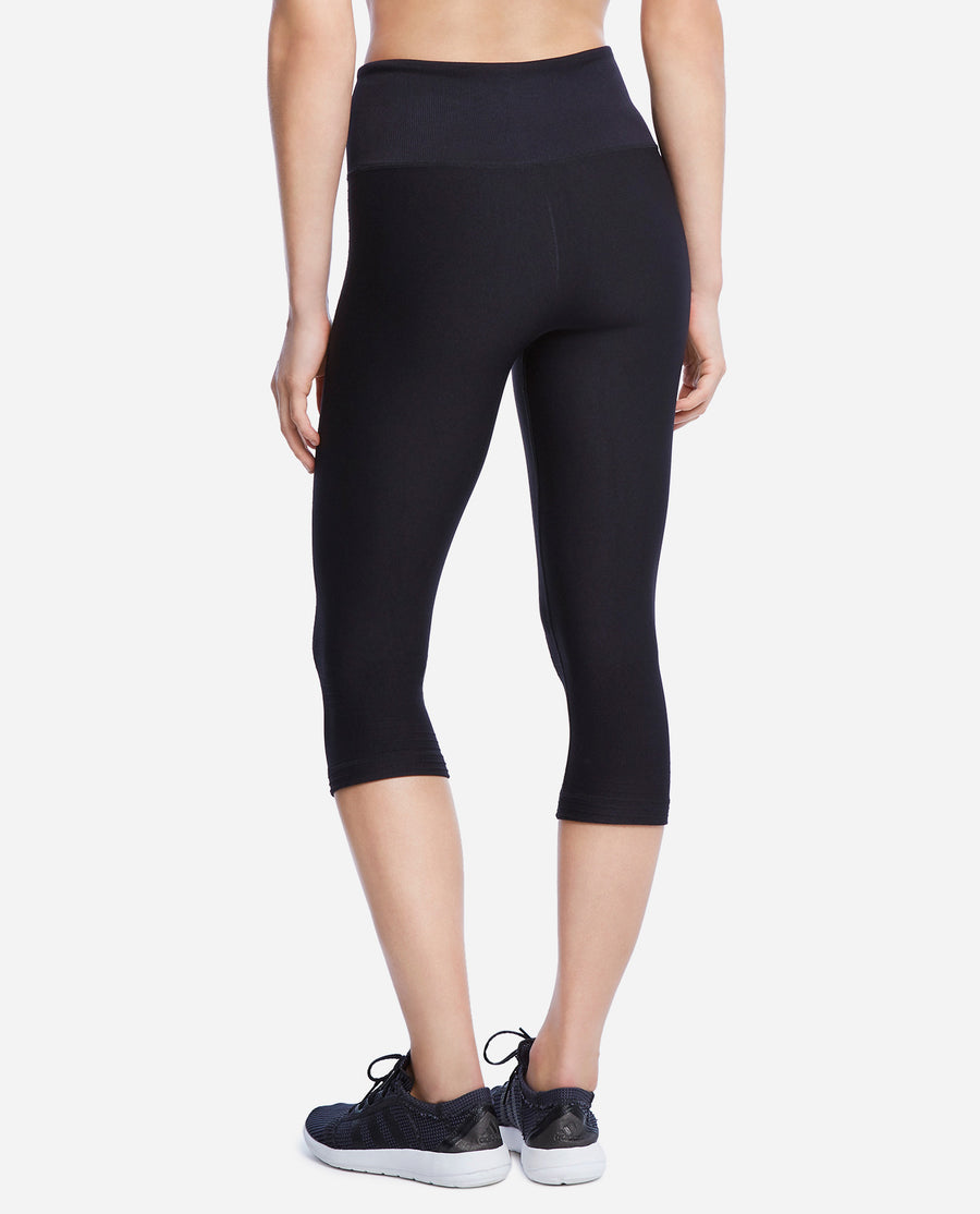 Seamless High Waist Capri Legging