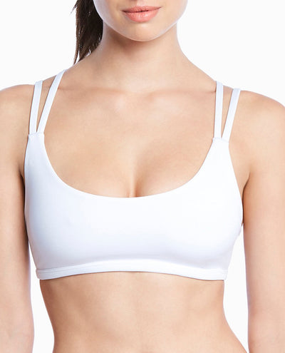 Strappy Exposition Sport Bralette