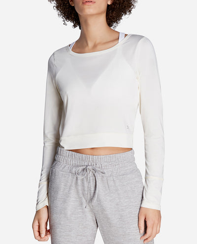 Long Sleeve Cropped Top