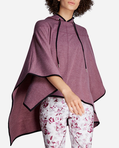 Hi-Low Hooded Poncho