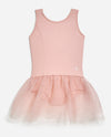 Girl's Sleeveless Tutu Leotard
