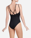 Center Cutout Halter Leotard