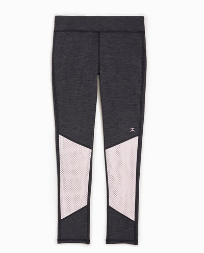 Girl's Polka Dot & Metallic Legging