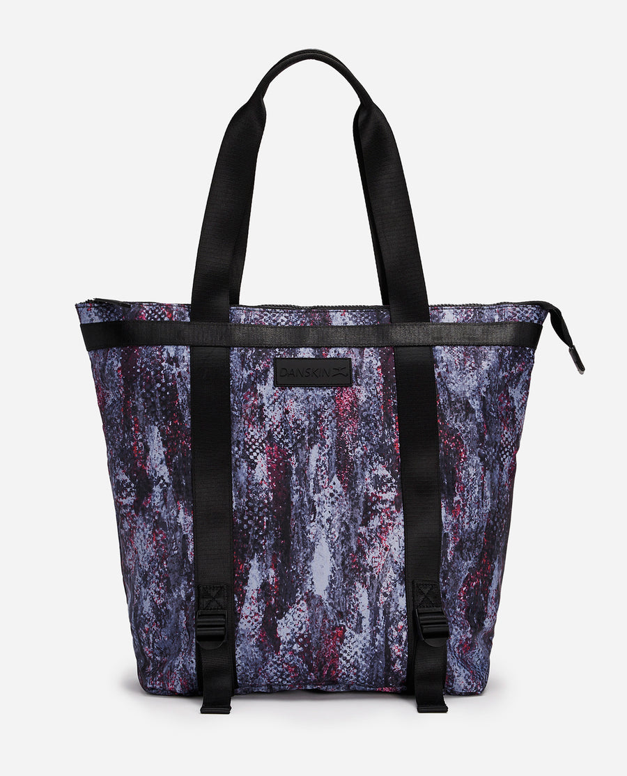 Amazing Skin Print Convertible Backpack Tote Bag