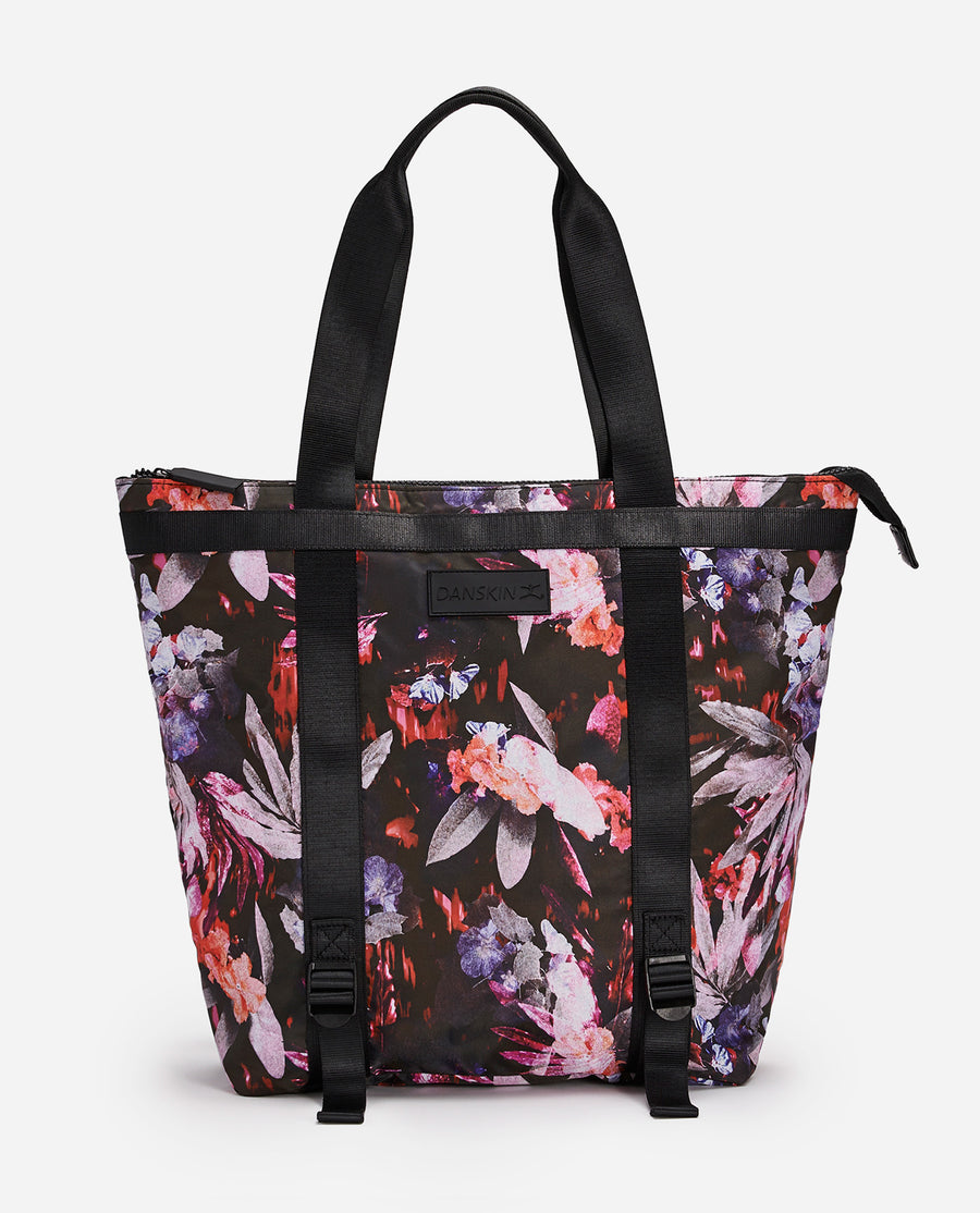 Wild Haven Print Convertible Tote Bag
