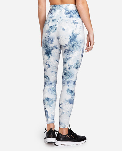 High Waist Printed Ankle Legging