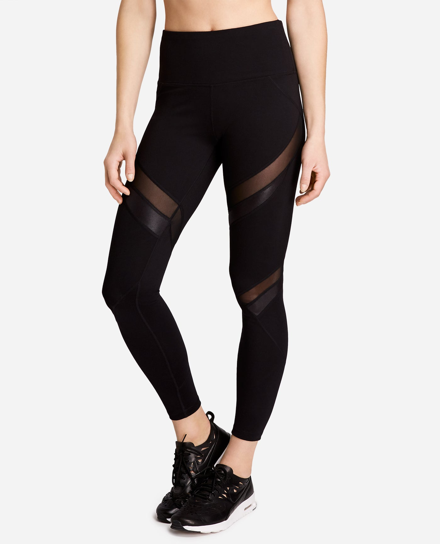 e2e3b69954750 High Waist Mesh Legging | Jenna Dewan Collection | Danskin