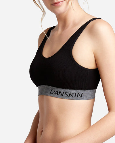 Core Logo Band Bralette 2-Pack
