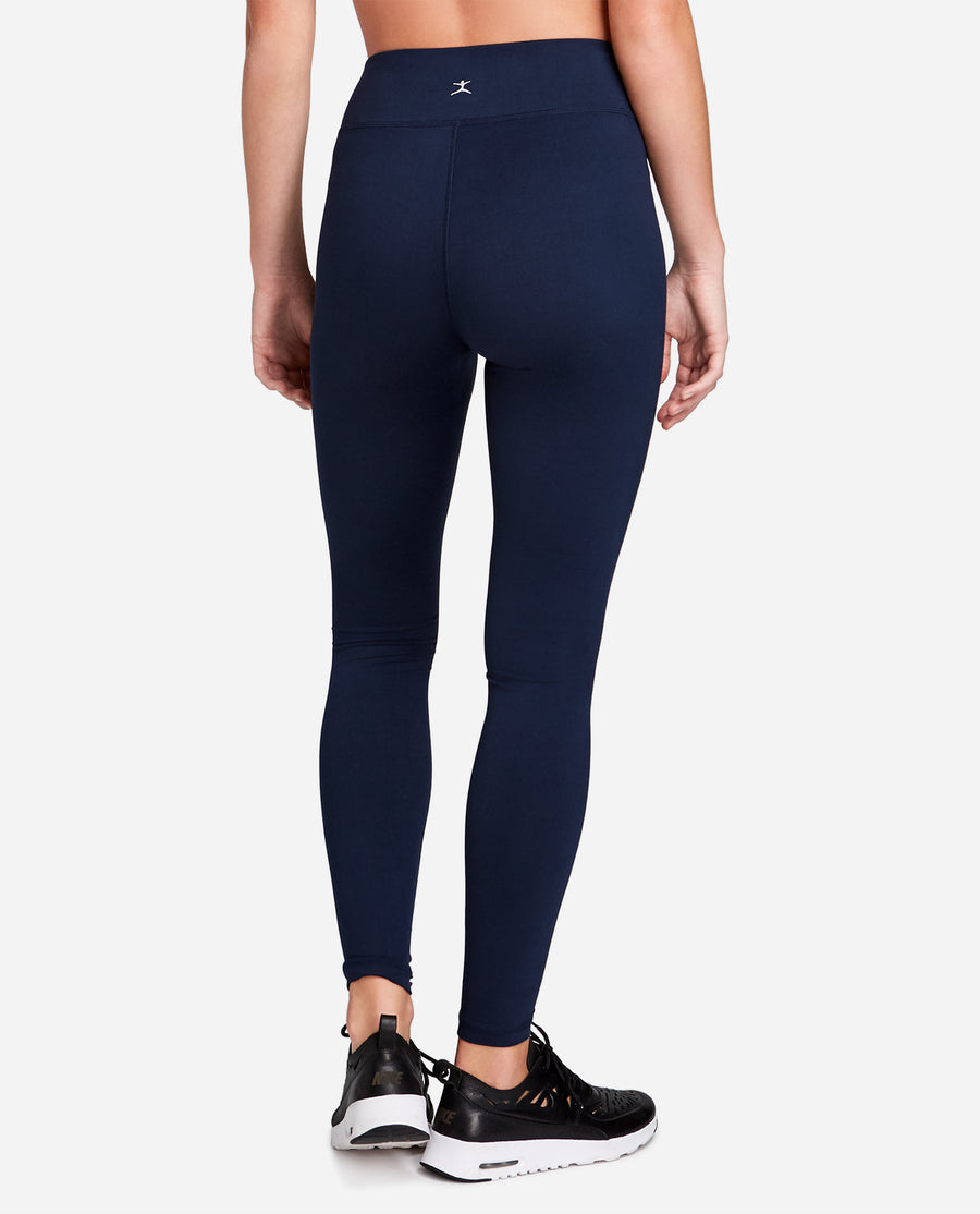 Mid-Rise Basic Ankle Legging