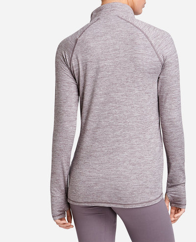 Space Dye Quarter Zip Pullover