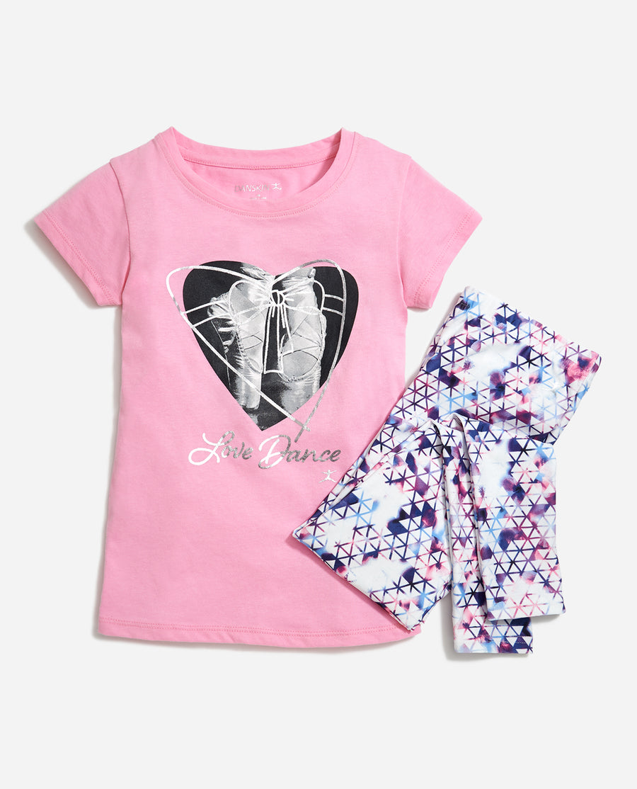 Girl's Tip Toes 2-Piece Set