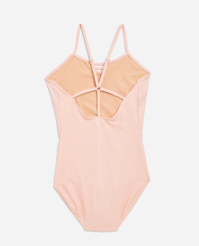 Girl's Halter Y-Back Leotard