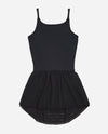 Girl's Sport Mesh Leotard Dress