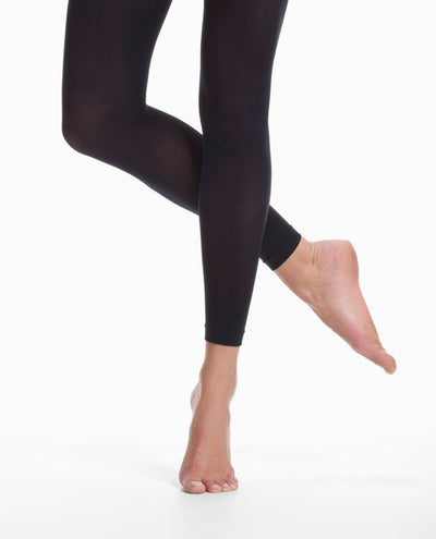 9754 Microfiber Hipster Crop Tights