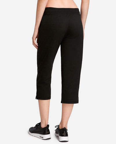 Drawcord Crop Lounge Pant