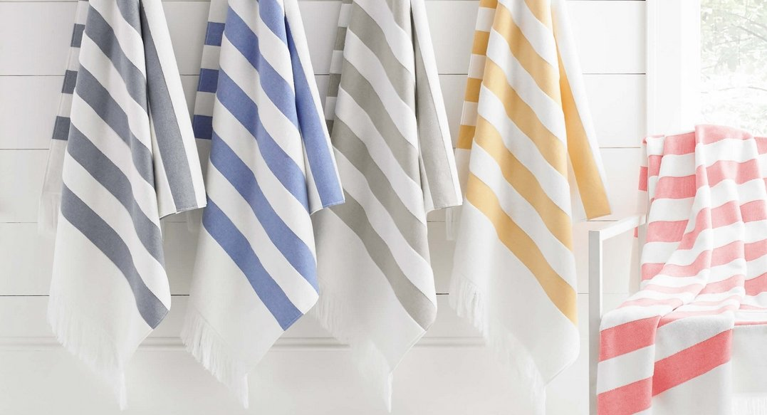 Sardan Striped Beach Towel