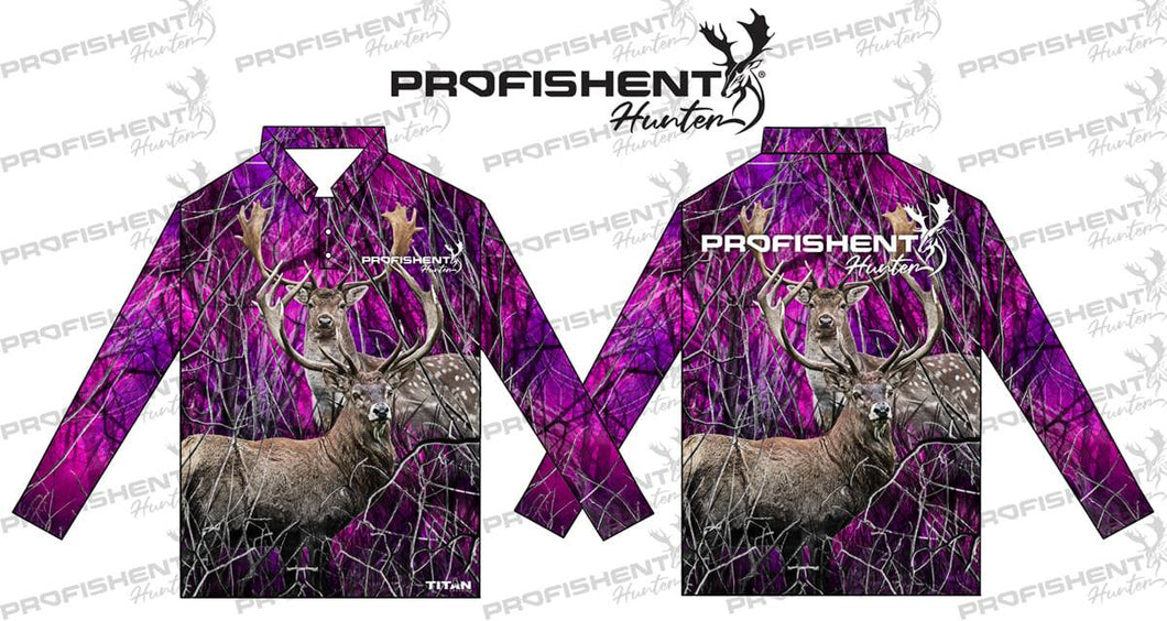 Profishent Sublimated L/S Pink Deer MED