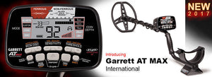 Garrett AT Max International Metal Detector