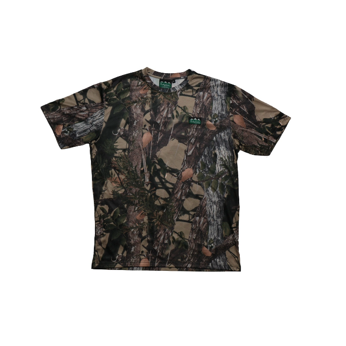 Ridgeline Covert Air Flow Tee - Buffalo Camo -Size L