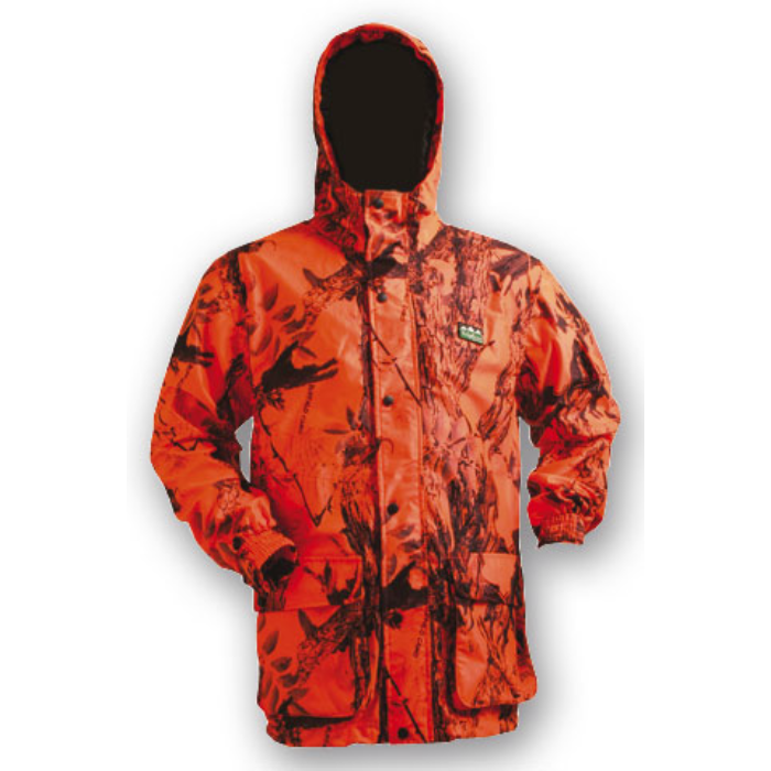 Ridgeline Mallard Jacket Blaze Camo - M - Light and Waterproof Hunting Hiking