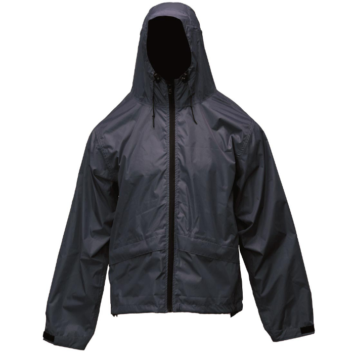 Ridgeline Packaway Spray Jacket Black Lightweight Waterproof for Hunting Small