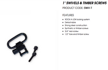 Spika 1 Swivels and Timber Screws SWV-T