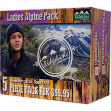 Ridgeline Ladies Alpine Pack Size 8