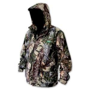 Ridgeline Mallard Jacket Buffalo Camo - L - Light and Waterproof Hunting Hiking