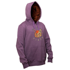 Ridgeline Ladies Vixen Hooded Jumper - Size XS/8 - Purple