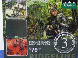 Ridgeline Micro Fleece Top 3 Pack Size Small