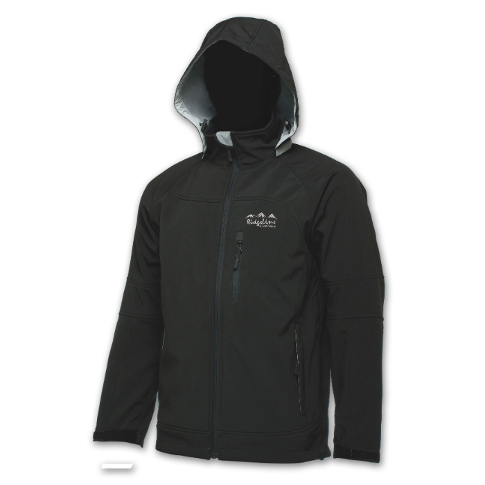 Ridgeline Aurora Softshell Jacket - Size 5XL - Black ***