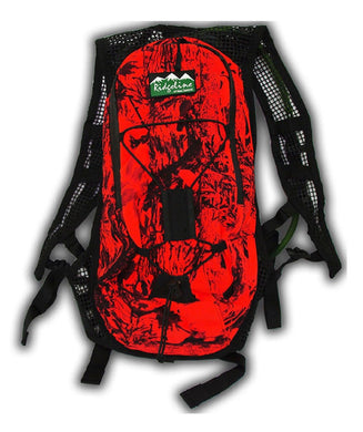 Ridgeline Hydro Day Pack Compact Blaze Camo with 3L Bladder