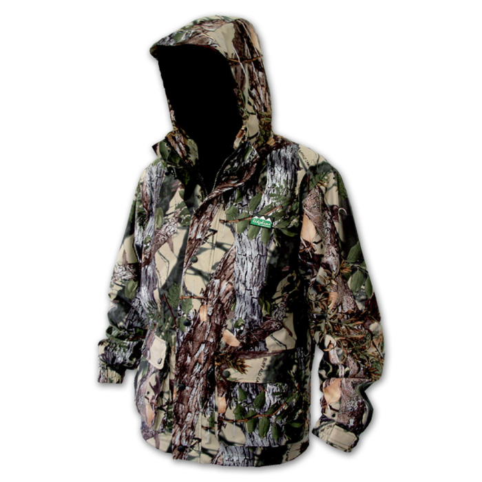 Ridgeline Mallard Jacket Buffalo Camo -2XL - Light and Waterproof Hunting Hiking