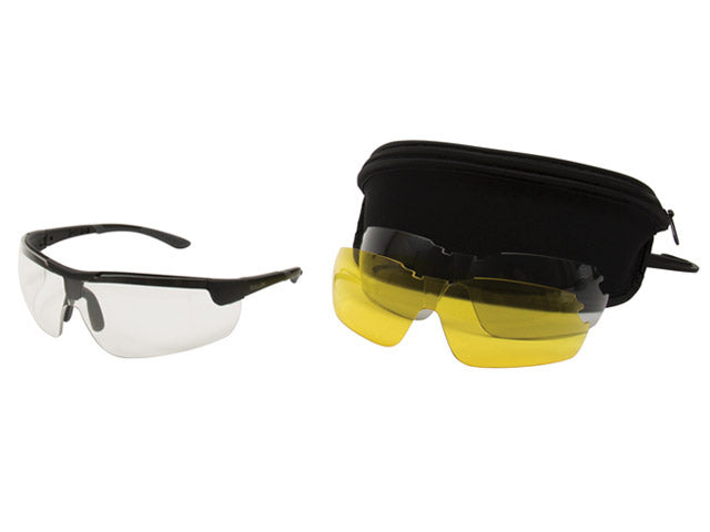 Allen Ion Ballistic Shooting Glasses 3 Lens Set