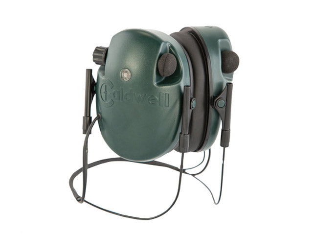 Caldwell Electronic Ear Muffs Behind The Head