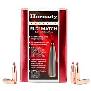 Hornady 6.5mm 140Gr ELD Match 100pk No 26331