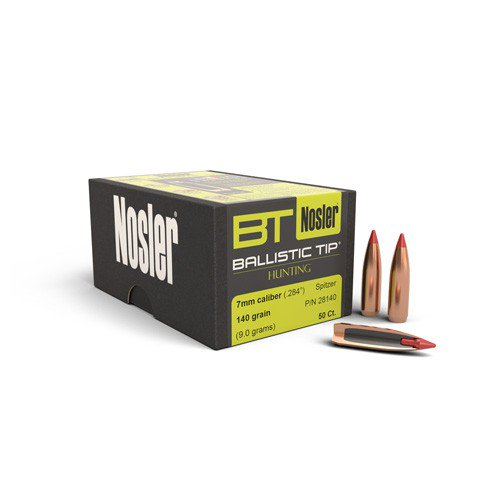 Nosler 7MM 140Gr B/Tip 50pk No 28140