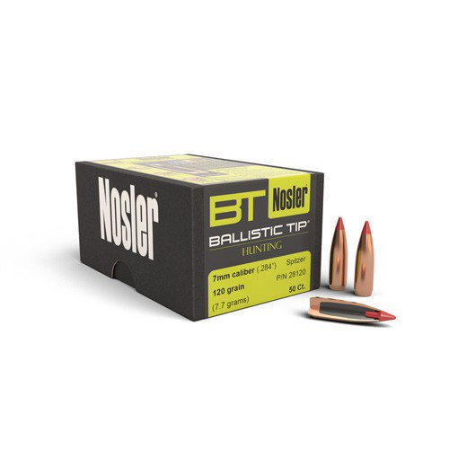 Nosler 7MM 120GR B/Tip 50PK No 28120